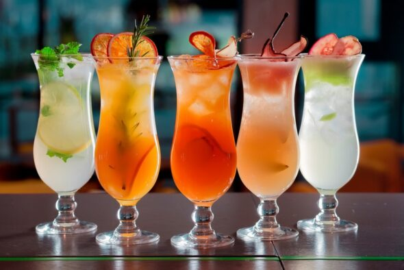 How to identify Cocktail Drinks